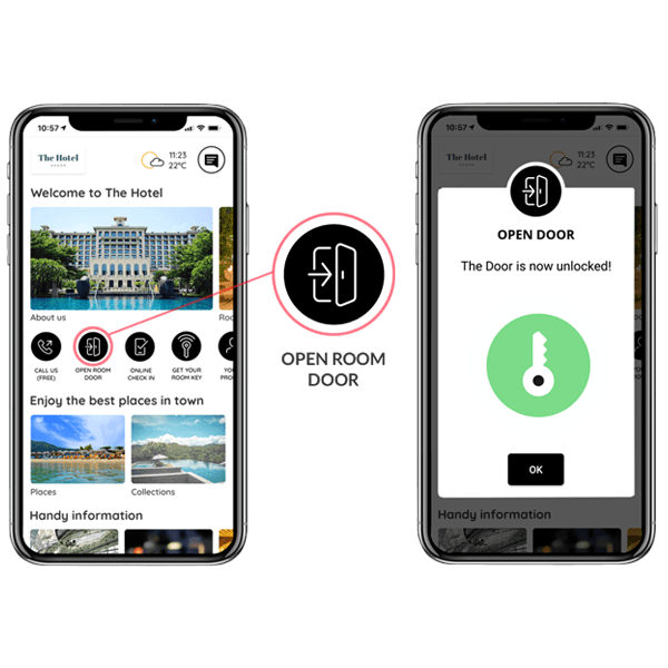 hotel app online check in mobile key